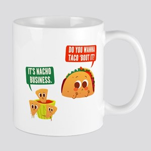 Nacho Business Pun Mugs